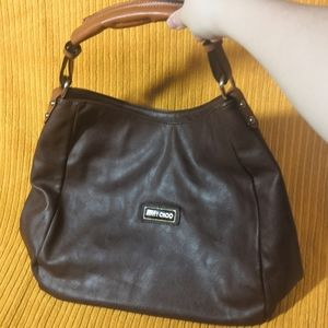 Jimmy Choo vintage brown, buttery soft leather bag